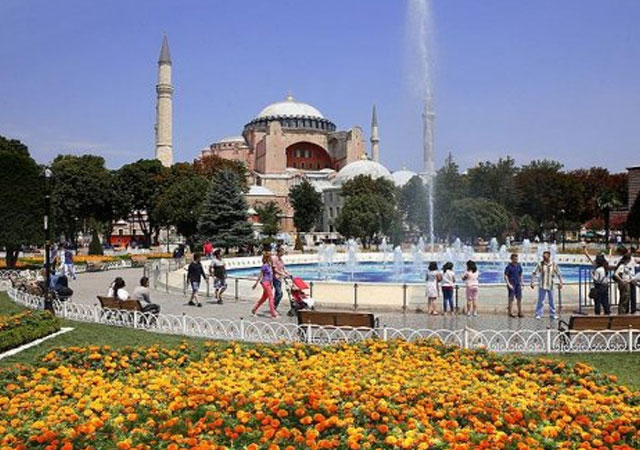 İstanbul'da turizm rekoru!