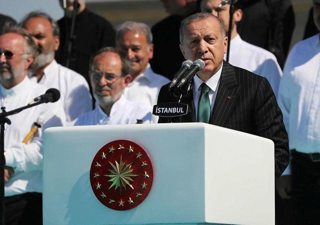 Erdoğan: Allah bizlere de şehitlerimizle anılmayı nasip etsin