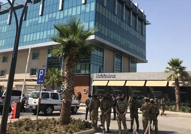 Türk konsolosluk çalışanlarının olduğu restorana saldırı!