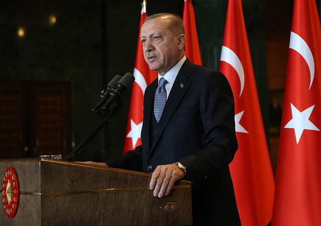 Erdoğan'dan, Doğu Akdeniz mesajı