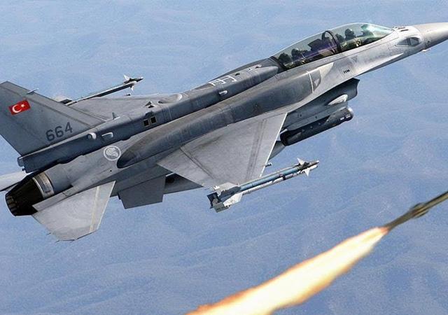 Irak'ın kuzeyinde PKK'ya ait hedefler imha edildi