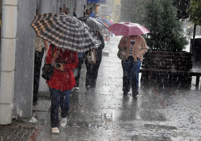 Meteoroloji'den kuvvetli yağış uyarısı!