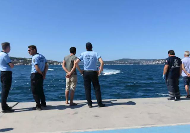 Beykoz'da denize giren 2 çocuktan biri kurtarıldı, diğeri kayboldu
