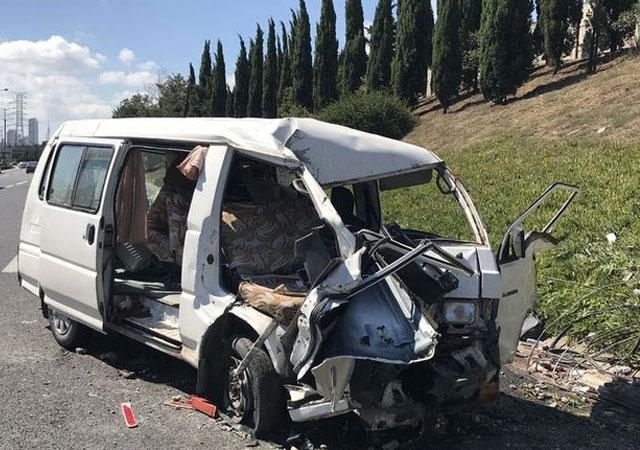Çamlıca Gişelerinde trafik kazası: 3 yaralı