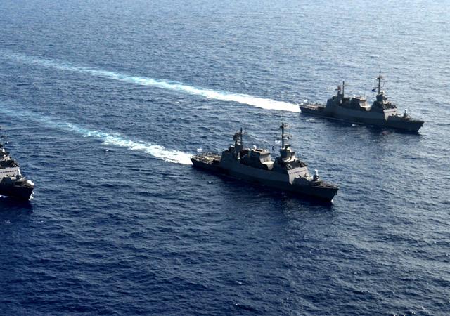 İsrail ve 8 ülke birleşti! Doğu Akdeniz'de tatbikat