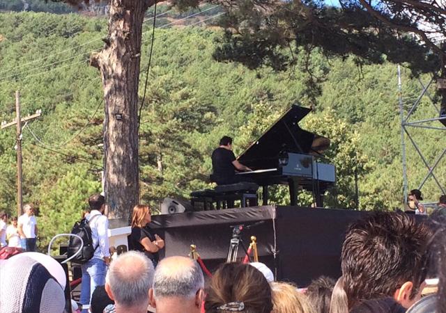 Fazıl Say'dan Kaz Dağları'nda konser