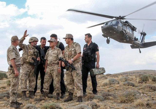 Kıran Operasyonu 4'ncü gününde: Dağlar teröristlerden temizlendi!