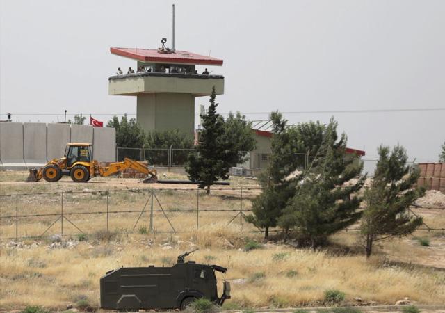 Esad rejiminden TSK gözlem noktasına taciz atışı