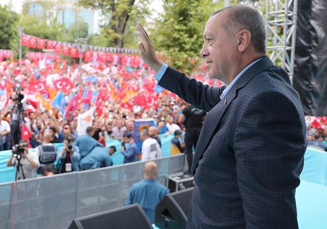 Cumhurbaşkanı Erdoğan: CHP sen kimin yanındasın?
