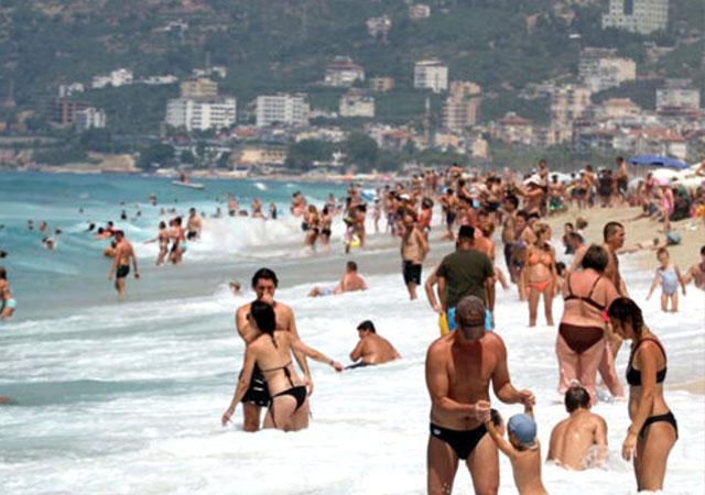 Temmuzda 6,6 milyon turist geldi!