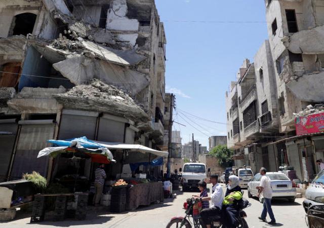 Rusya İdlib'i 12 gün aradan sonra yine vurdu