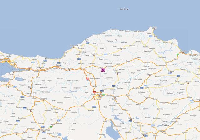 Çankırı'da art arda depremler