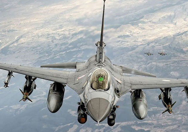 MSB: F-16'lar Suriye'de uçtu