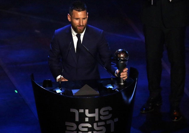 FİFA en iyi futbolcuyu seçti: Lionel Messi!