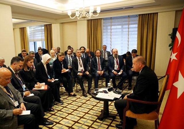 Cumhurbaşkanı Erdoğan: Güvenli Bölge için takvim işliyor