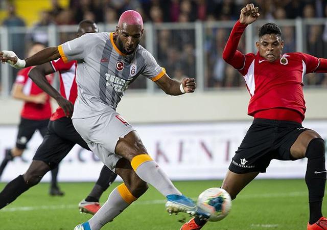 Galatasaray, Ankara'da kayıp! 0-0