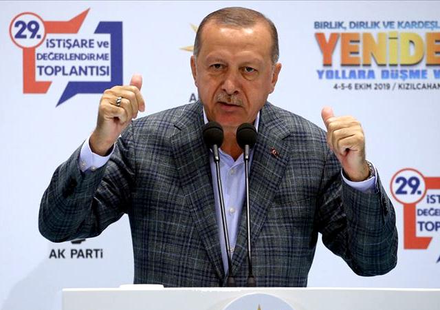 Erdoğan'dan partlilere uyarı: Fitne bayağı egemen!