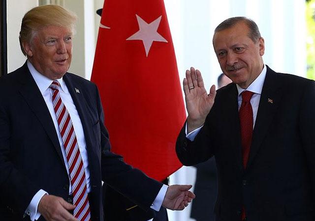 Trump: Erdoğan'la 13 Kasım'da görüşeceğiz
