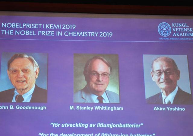 2019 Nobel Kimya Ödülü sahibini buldu