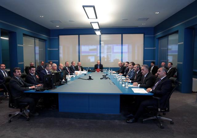 'Barış Pınarı Harekatı Koordinasyon Toplantısı' yapıldı