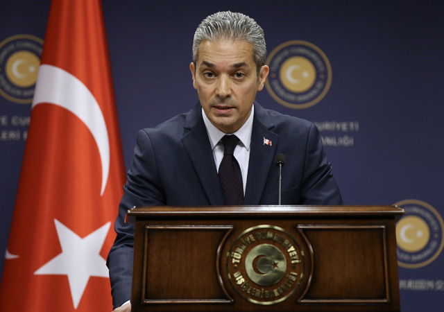 Türk Dışişleri: ABD'nin olası yaptırımlarına misliyle karşılık veririz
