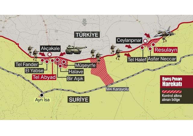 Güvenlik kaynakları: ABD askerleri Ayn El Arab'tan ayrıldı!