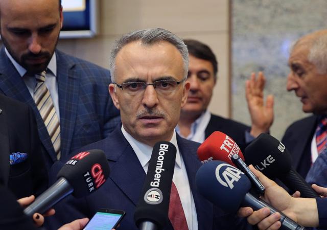 Bütçe Başkanı Ağbal: 2020 bütçe açığı 139 milyar