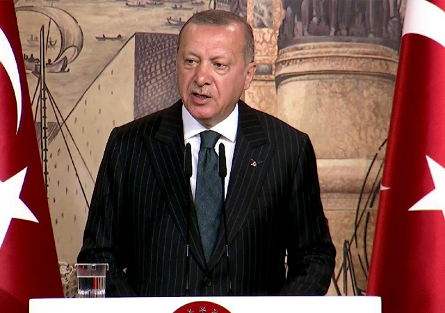 Erdoğan'dan Trump'a flaş mektup cevabı: Vakti geldiğinde gereken yapılacak!