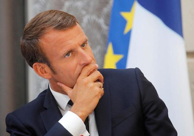 Macron açıkladı: Cumhurbaşkanı Erdoğan'la görüşme kararı aldık