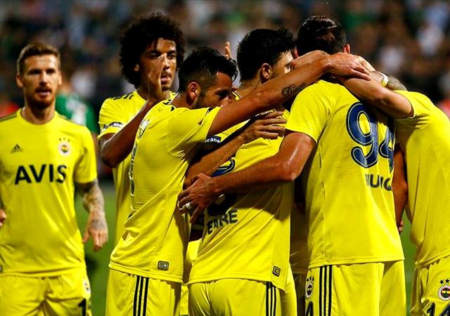 Fenerbahçe deplasmanda kazandı! 2-1