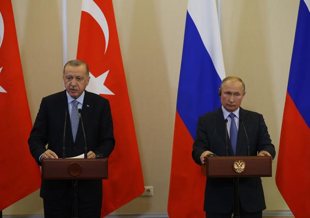 Soçi'de Erdoğan-Putin zirvesi sona erdi