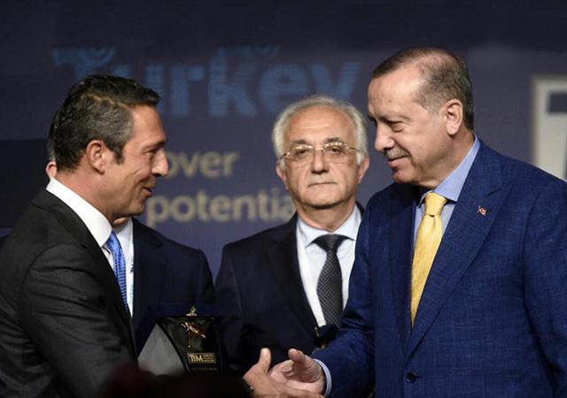 Fenerbahçe, Cumhurbaşkanı Erdoğan'a divan rozeti verecek