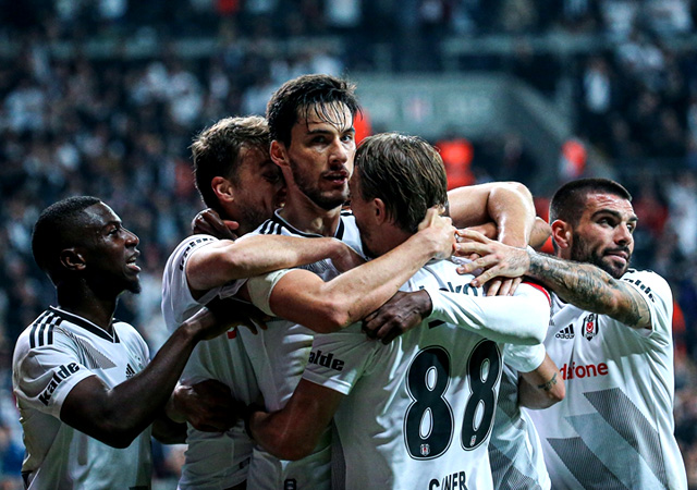 Beşiktaş'a Galatasaray derbisinde tek gol yetti! 1-0
