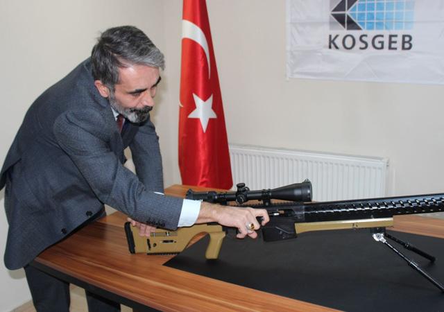Erdoğan'ın direktifleriyle sniper tüfeği üretildi