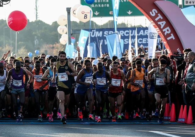 İstanbul Maratonu'nda rekor kırıldı!