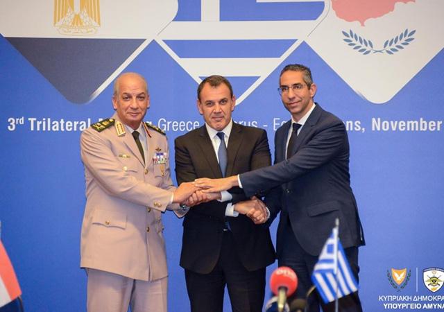 Mısır, Kıbrıs ve Yunanistan'dan Türkiye'ye kınama!
