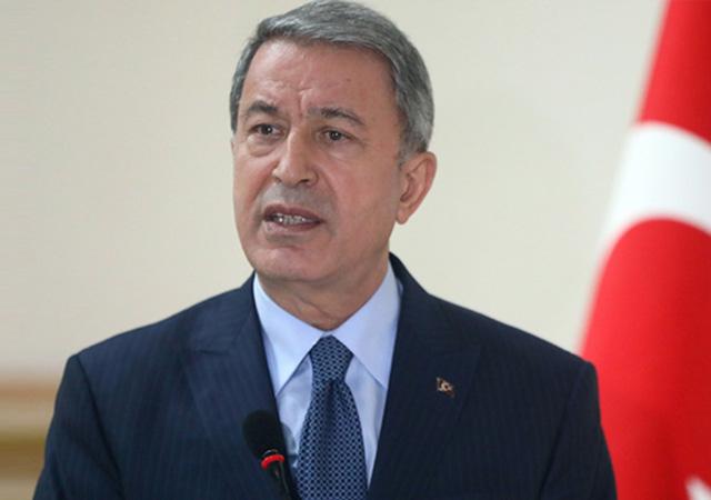 Bakan Akar: PKK/YPG bölgeden çekilmedi