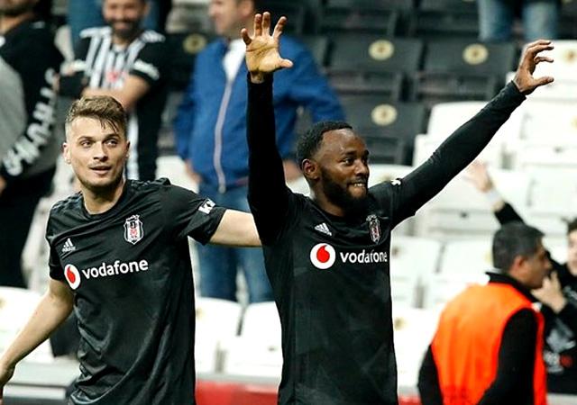 N'Koudou attı Beşiktaş kazandı! 1-0