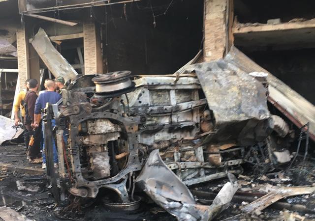 Kamışlı'da 2 patlama: 3 ölü, 5 yaralı