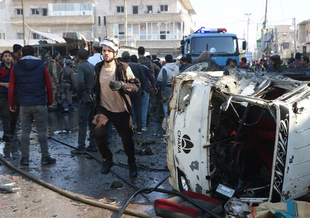 Suriye'de bombalı saldırı: 18 sivil hayatını kaybetti