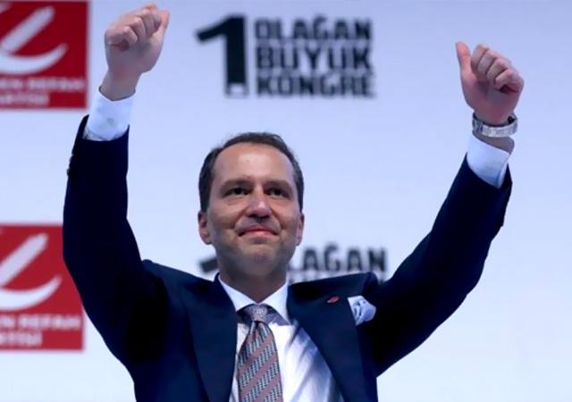 Yeniden Refah Partisi'nde genel başkan belli oldu
