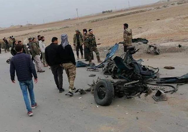 Tel Abyad'daki terör saldırısında 6 sivil yaralandı