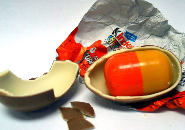 Sürpriz yumurtalar oyuncak sayılacak, vergi artacak