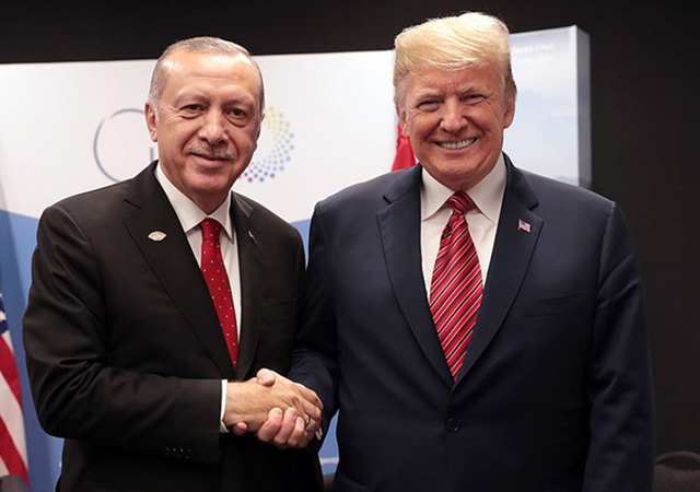 Trump: Türkiye'yi seviyorum, Erdoğan ile iyi anlaşıyorum