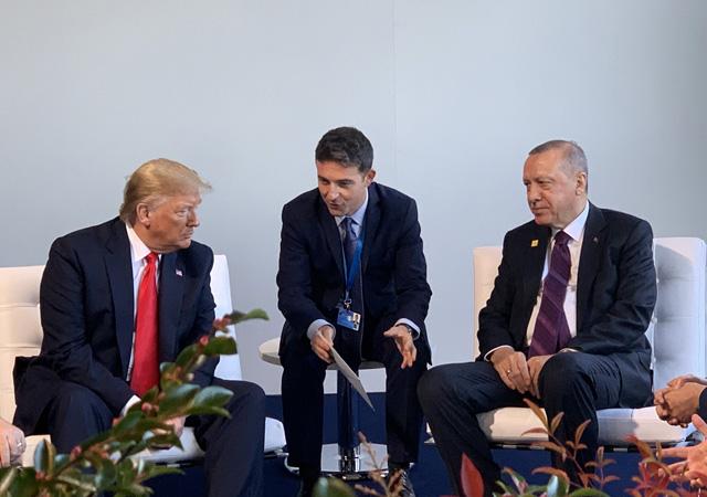 NATO Zirvesi'nde Erdoğan - Trump görüşmesi