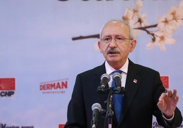 Kemal Kılıçdaroğlu, Ahmet Davutoğlu'na destek verdi