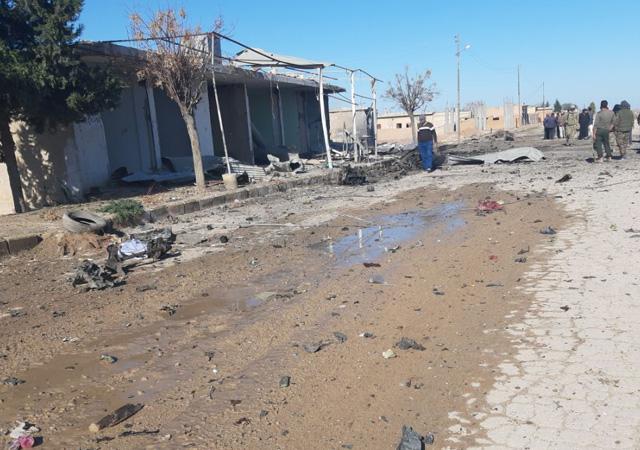 MSB: Rasulayn'da terör saldırısında 1 sivil öldü, 26 sivil yaralandı