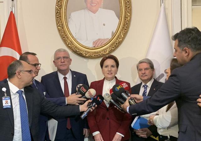 Akşener: Libya tezkeresine 'hayır' demeye karar verdik