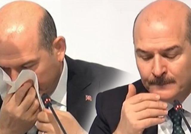 Süleyman Soylu'nun canlı yayında burnu kanadı!