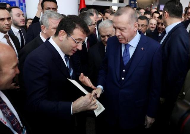 İmamoğlu'ndan Erdoğan'a Kanal İstanbul'la ilgili mektup